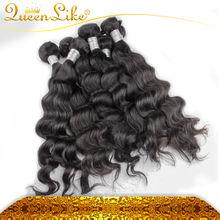 2014 Hot Sale fashion model Brazilian loose wave virgin hair wholesale