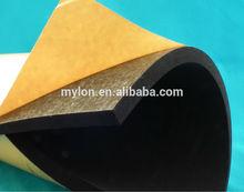 functional adhesive neoprene foam gasket CR foam gasket for industrial construction