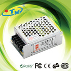 24w CE RoHS approved led driver ac-dc switching power supplier