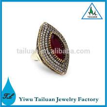 2014 Fashion Ruby Women Gemstone Ring