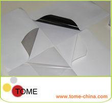 Silver grey Carbon fiber Self-adhesive vinyl