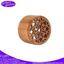 High Quality Fashionable Wholesale Price Nature Wood Portable Mini Cube Speaker