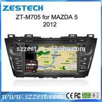 ZESTECH gps navigation auto radio audio system car dvd for Mazda 5