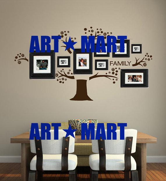 Family Tree Wall Decal Vinyl