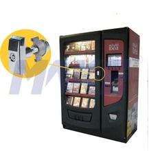 Tubular key book vending machine lock