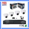 El hogar/oficina caliente de la venta de interior 4ch móvil cctv kit