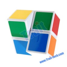 1x2x2 CYH Colorful Magic Cube With White Edges