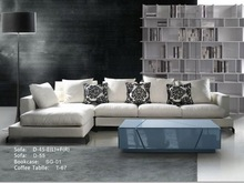 modern big size fabric sofa set wooden arm sofas