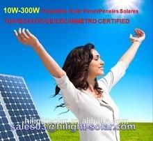 High quality &low price per watt solar panels 240w, 250w, 260w with TUV