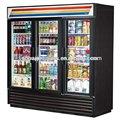 comercial vertical freezer com porta de vidro