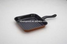 carbon steel non-stick ceramic coating fry pan/roasting pan