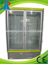 Glass door refrigerating Cabinet