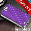 wholesale star bling diamond phone case for samsung note 2 back cover