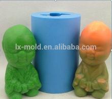 3d molde de silicona para vela