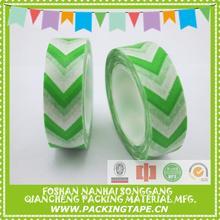 Custom printed washi tape guide