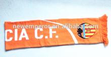 acrylic wool football present scarf