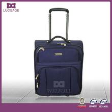 Best Aluminium Tube Airport Luggage Trolley Suitcase