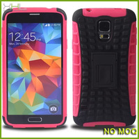 New product hybrid pc&tpu phone case with stand for samsung galaxy S5, case for S5