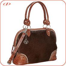 High quality leather & cowhair handbag buyer