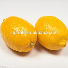 Sanqi fake food foam fruit fake lemon for vase filler