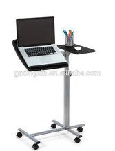 Angle Adjustable Swivel Laptop Table , Bed Side Reading Desk Black For Computer DX-BJ19