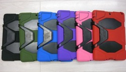 Extreme-duty military rugged case for IPad 2 and iPad 3