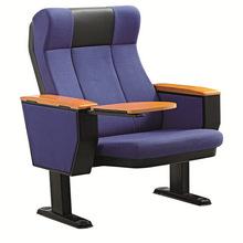 XJ-106 good quality and comfortable folding auditorium chair with tablet