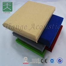 Fabric Acoustic Panels fiberglass wall panel board