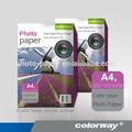 Giấy bóng Laser 250gsm, Hình in màu sắc ( A4 / 4R kích thước, Máy in Laser sử dụng, Papel fotografico Laser / fotopapier )