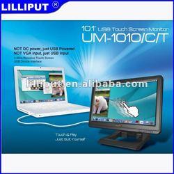 Lilliput UM1010 DC 5 V Input 1024x 576 10.1 inch touchscreen usb monitor