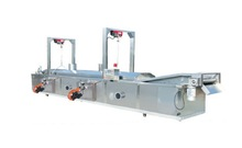 Automatic Belt Type Continuous Meat ball/Beef/Pork/Chicken/Duck/Sheep/OX/Cattle Frying Machine/Fryer/Frying System