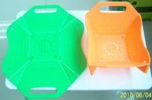 in plastica per alimenti pieghevole piatti ristorazione che servono piatti dal ristorante usato