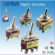 single pole single throw toggle switch / three terminal rocker switch / chrome toggle switch