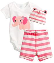AD 3pcs baby girl clothing set