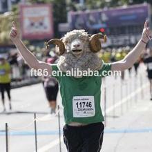 New Hot Animal Head Mask Costume Creepy Adult Goat Latex Mask