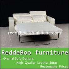 blue folding arms adjustable sofa bed