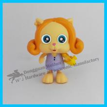 dongguan factory eco-friendly pvc cheap cartoon figurines