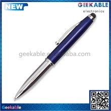 2014 New hot-sale pc aluminum write 3in 1 stylus pen