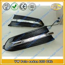 Factory price CAR-Specific LED DRL,Volkswagen VW Polo Sedan 2011-2013 LED Daytime Running Light