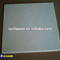 antibacterial aluminum square ceiling