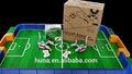 robot de mi tiempo de fútbol educativos de bloques de construcción del robot