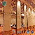 el restaurante operable panel de pared de tabique móvil