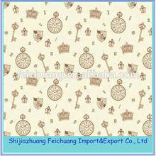 100% polyester polka dot printed Vietnam fabric