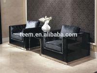 Divany Furniture modern living room sofa wood lcd cabinet design