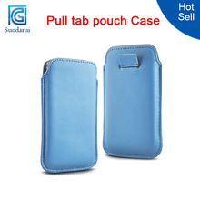 All color Pull tab pouch Case Cover For zte nubia x6 Mix color