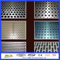 professional factory perforated titanium mesh sheet