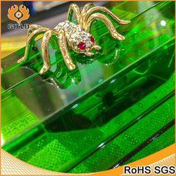 custom design colorful transparent acrylic clutch