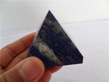 Natural Lapis Lazuli stone pyramid, crystal pyramid with very good quality and good handcrafts