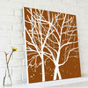 Modern Tree Painting Canvas Art for Wall Decoration