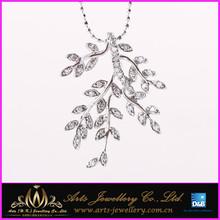 Golden Leaf Pendant,Wholesale Golden Leaf Charms For Decoration